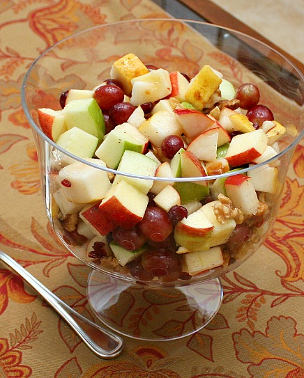 fall fruit salad