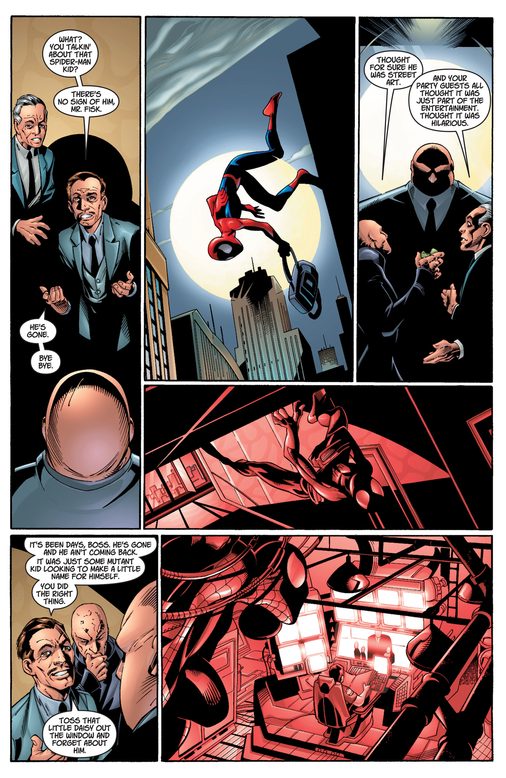 Read online Ultimate Spider-Man (2000) comic -  Issue #11 - 15