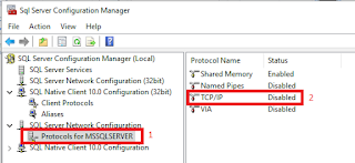 sql server configuration manager protocols