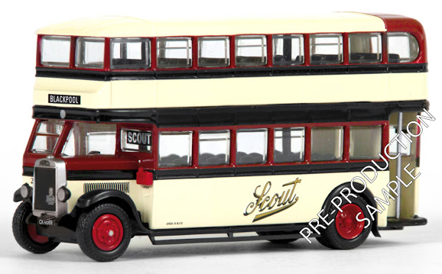 Exclusive First Editions: 27319 - Leyland TD – Scout Registration number CK 4569, fleet number 24. En route to Blackpool. Scheduled for a May release RRP £34.50
