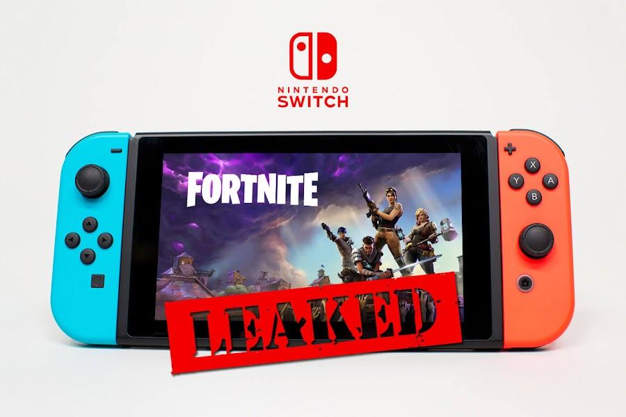 fortnite nintendo switch leak