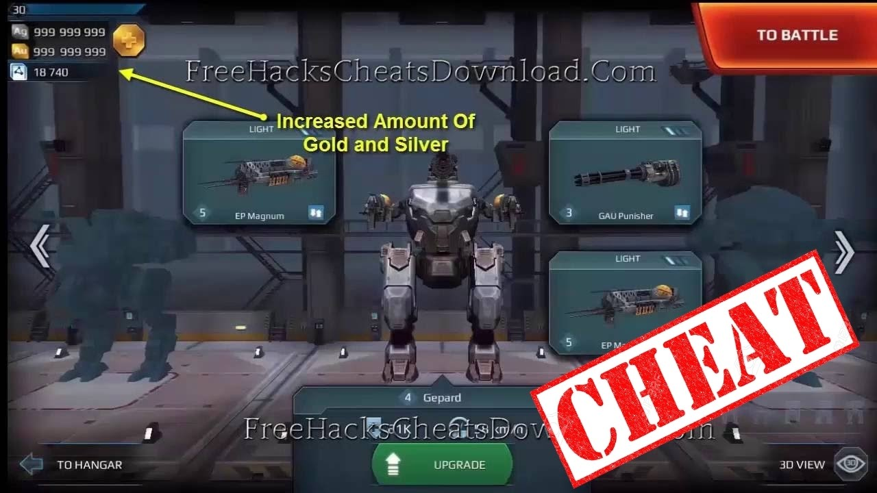 How To Hack War Robots Software App Facebook Google Free Games