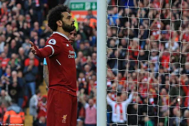 Mohamed Salah xô đổ nhiều kỷ lục ở EPL