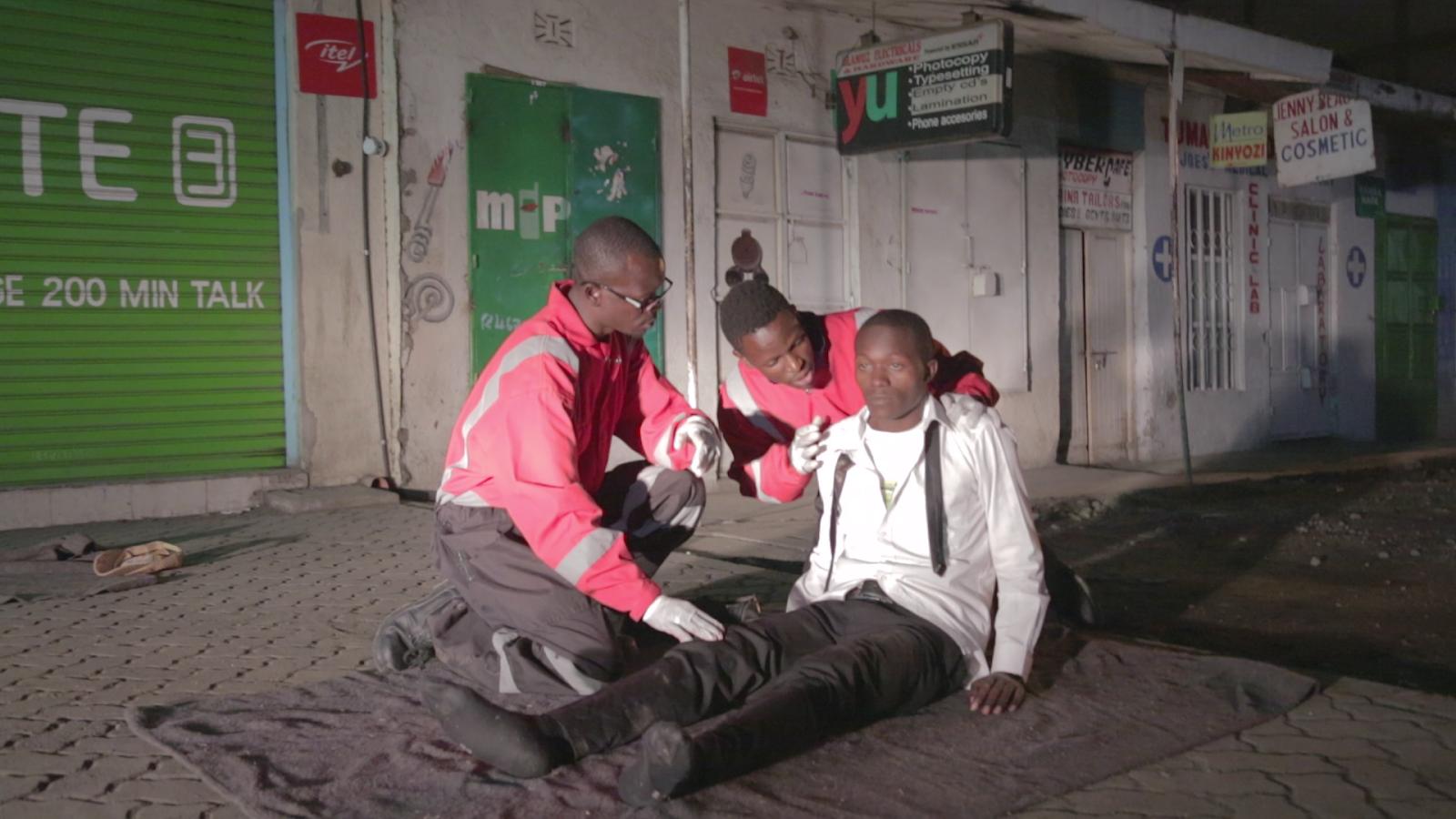 SEEGLOBE SHOOTING WITH KENYA REDCROSS RAISED FILM STANDARDS