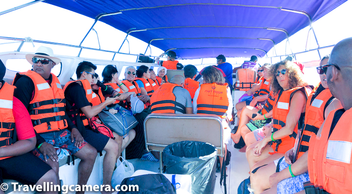 3. Island Hopping Tours :    Island hopping tours is popular option. It's relatively stress-free because you have pre-defined tour itineraries to chose from and price is also pretty low. This is most reasonable option especially when you not a huge group. With bigger group size, one ca rent a speedboat for a day and decide upon own itinerary.