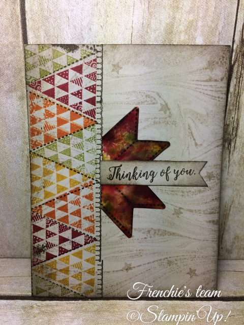 Christmas Quilt, Stampin'Up!