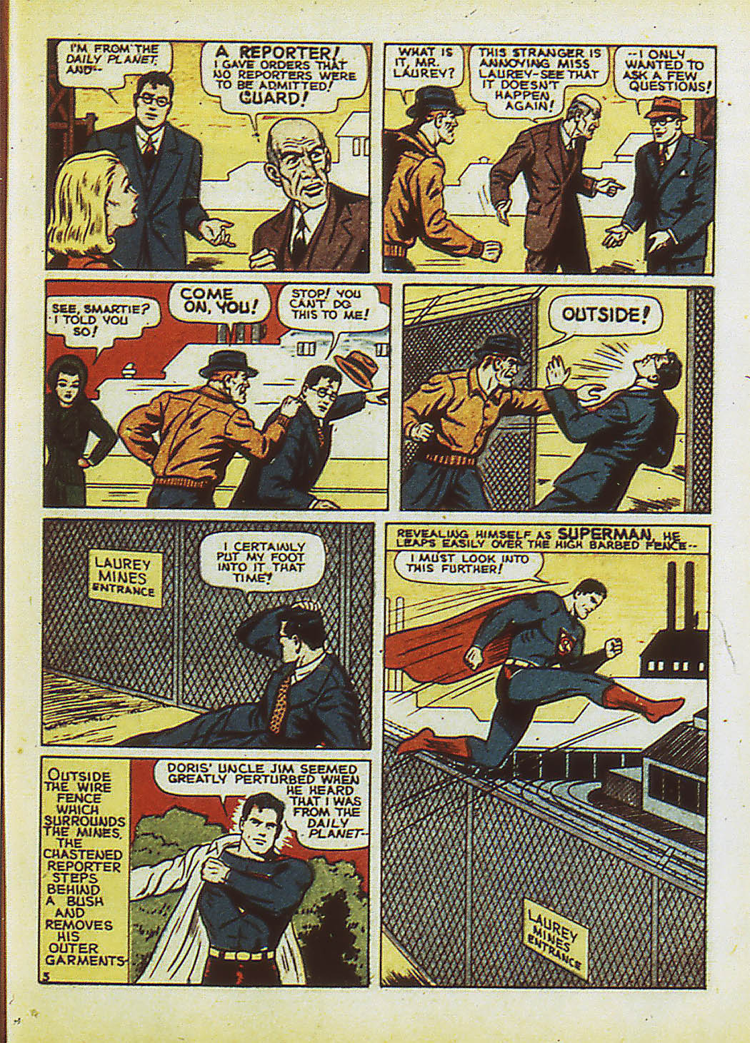 Read online Action Comics (1938) comic -  Issue #34 - 6