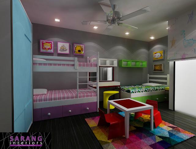 Sarang Interiors Modern Tropical Interior Design By: Selamat Datang Ke Rumahdsabah: Ubahsuai Dalaman Rumah