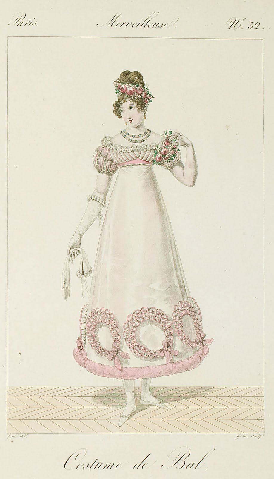 Women Everyday Dress In 1812