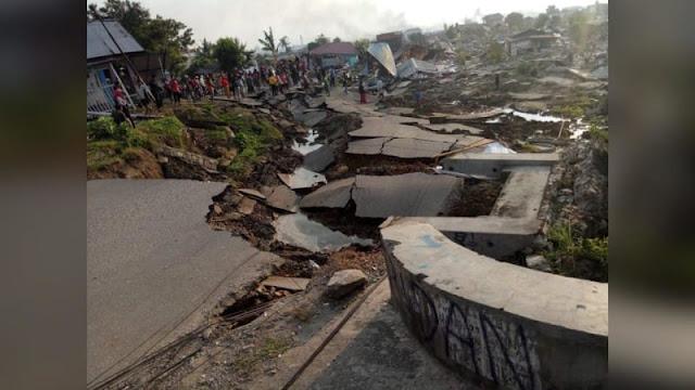 TNI AU Gunakan Foto Udara untuk Petakan Bantuan di Palu dan Donggala