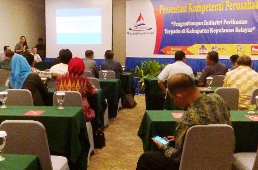 PT.Amreta Batam Indonesia Presentasi Kompetensi, Perusahaan, Sebagai ,Calon, Investor, Perikanan ,Selayar