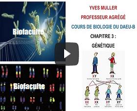 Génétique cours SVT- Biologie