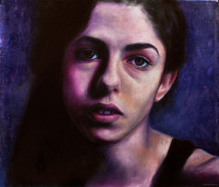 Палестино-американский художник и дизайнер. Daliah Ammar