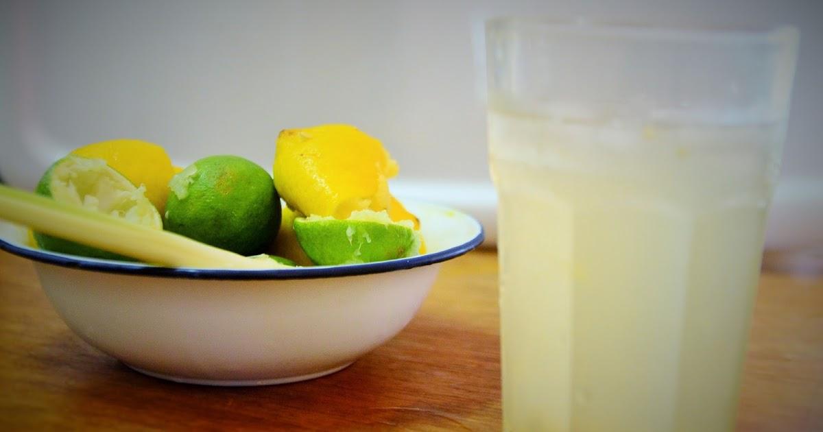 香茅柠檬水 Lemonade with Serai Syrup