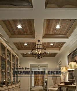 stylish Coffered ceilings