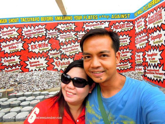 Tacsiyapo wall at Isdaan Floating Restaurant
