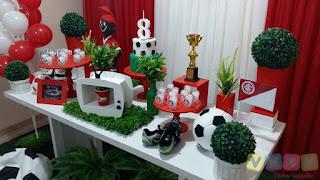Decoração festa infantil Sport Club Internacional