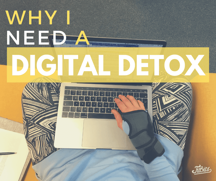 The benefits of a digital detox - Tess Agnew fitness blogger
