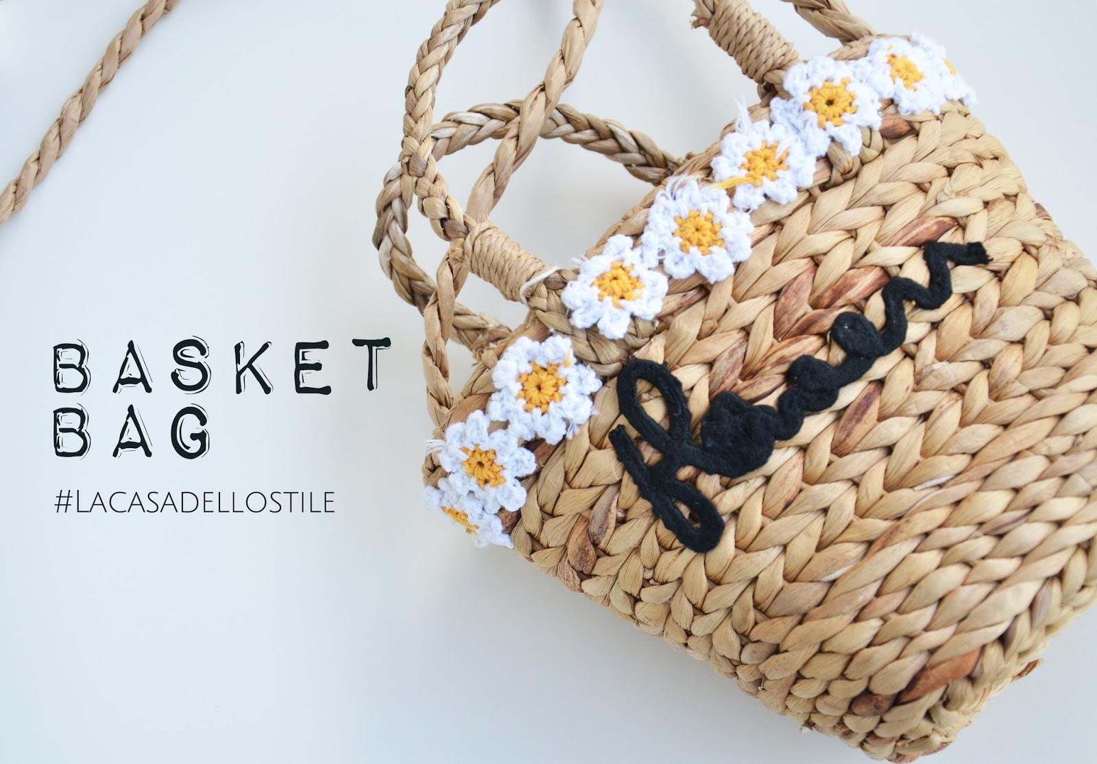 La casa dello stile: Basket bag: la borsa della primavera