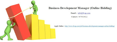 Business Development Manager (Online Bidding)