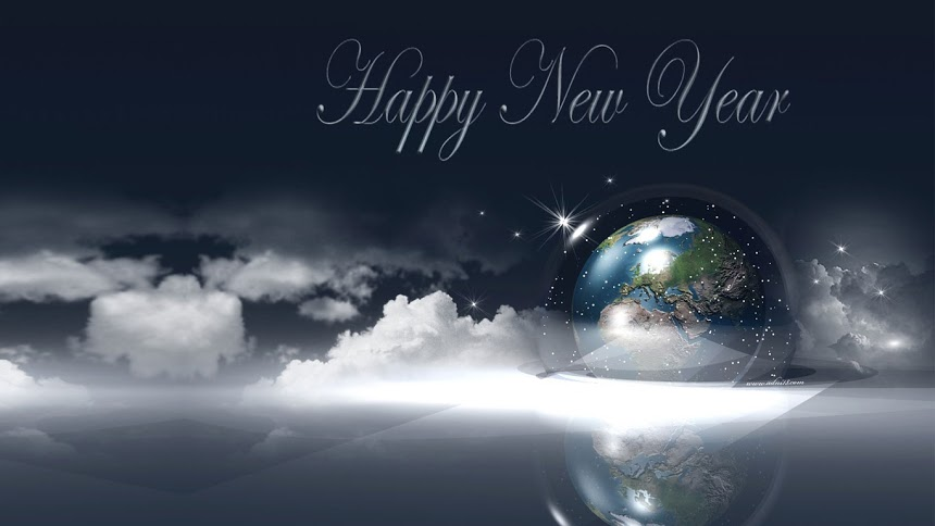Happy New Year 2013 Windows 7 Wallpapers