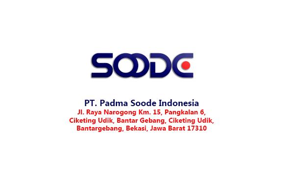 Kesempatan Kerja di bagian Staf Produksi PT Padma Soode Indonesia (Lulusan SMA/SMK/Setara)