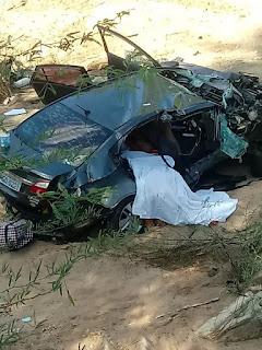 Carro capota, cai de ponte e três mulheres morrem no interior da Paraíba