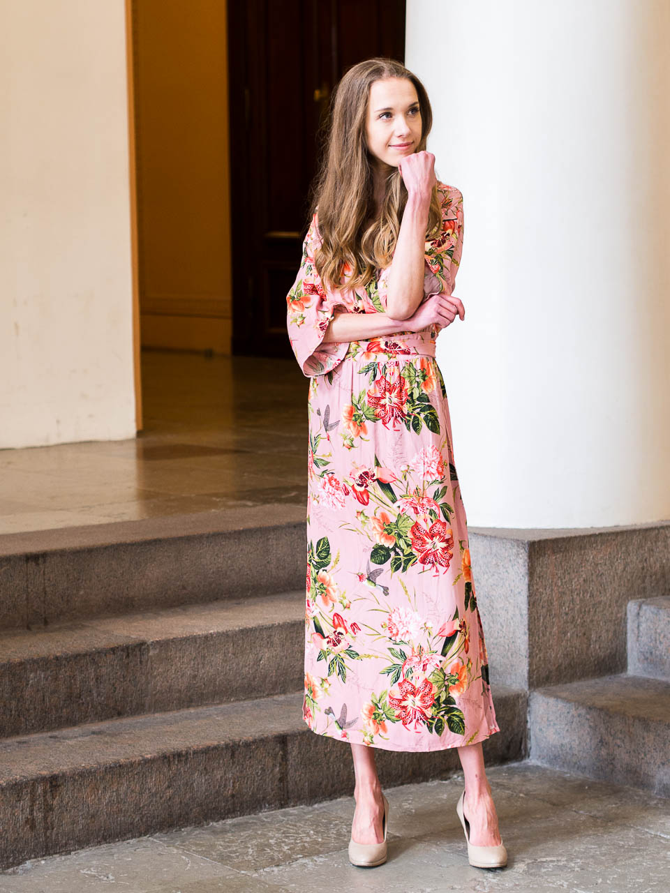 floral-maxi-summer-dress-kappahl-vintage-stories