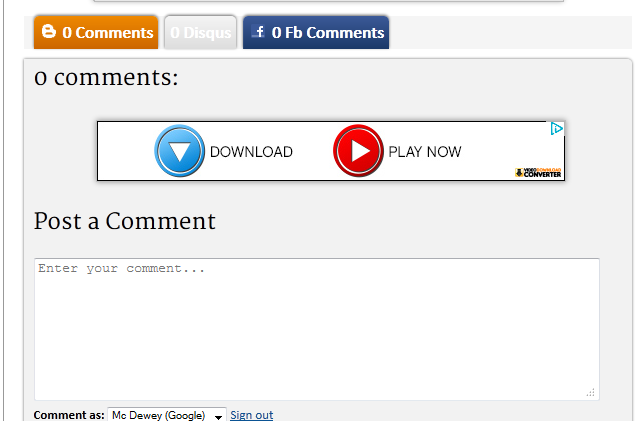 How to Use Facebook, Disqus and Blogger Comment tab Together