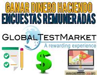 GlobalTestMarket, ganar dinero con encuestas remuneradas