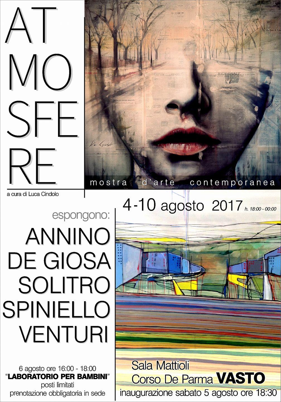 Captivating Atmosfere, Mostra Du0027arte Contemporanea Dal 4 Al 10 Agosto Nella Sala  Mattioli A Vasto.