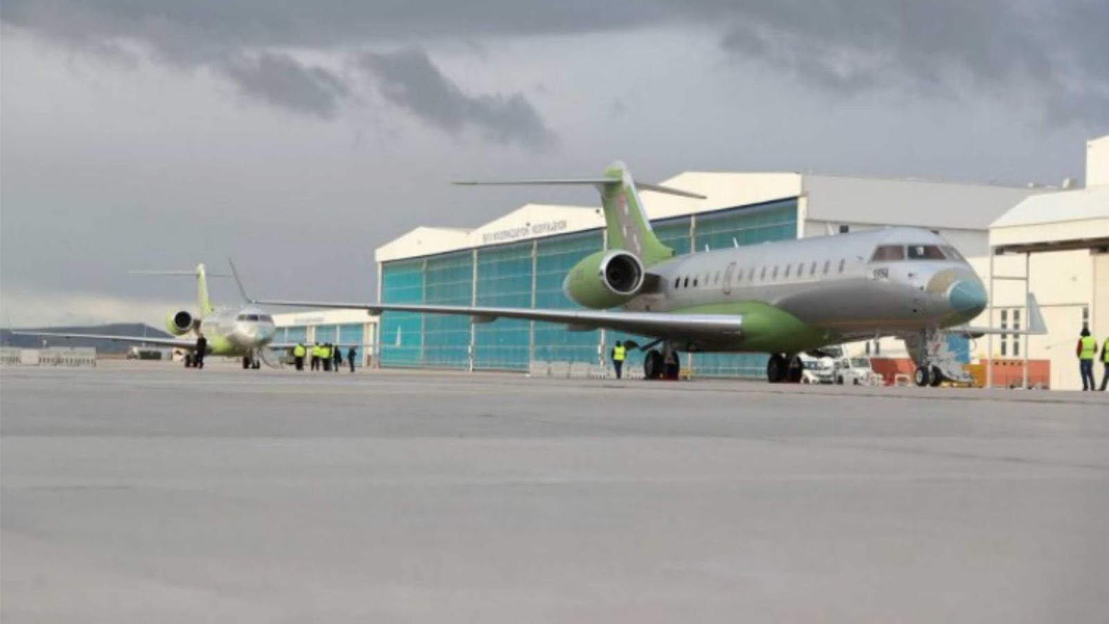 Turki menerima dua pesawat Bombardier pertama yang dilengkapi dengan Air jammers stand-off