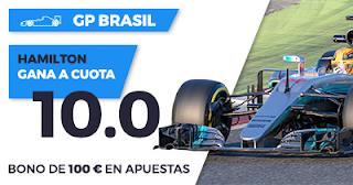 Paston Megacuota F1 GP Brasil: gana Hamilton 12 noviembre