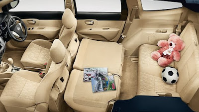 Interior Mobil Nissan Grand Livina