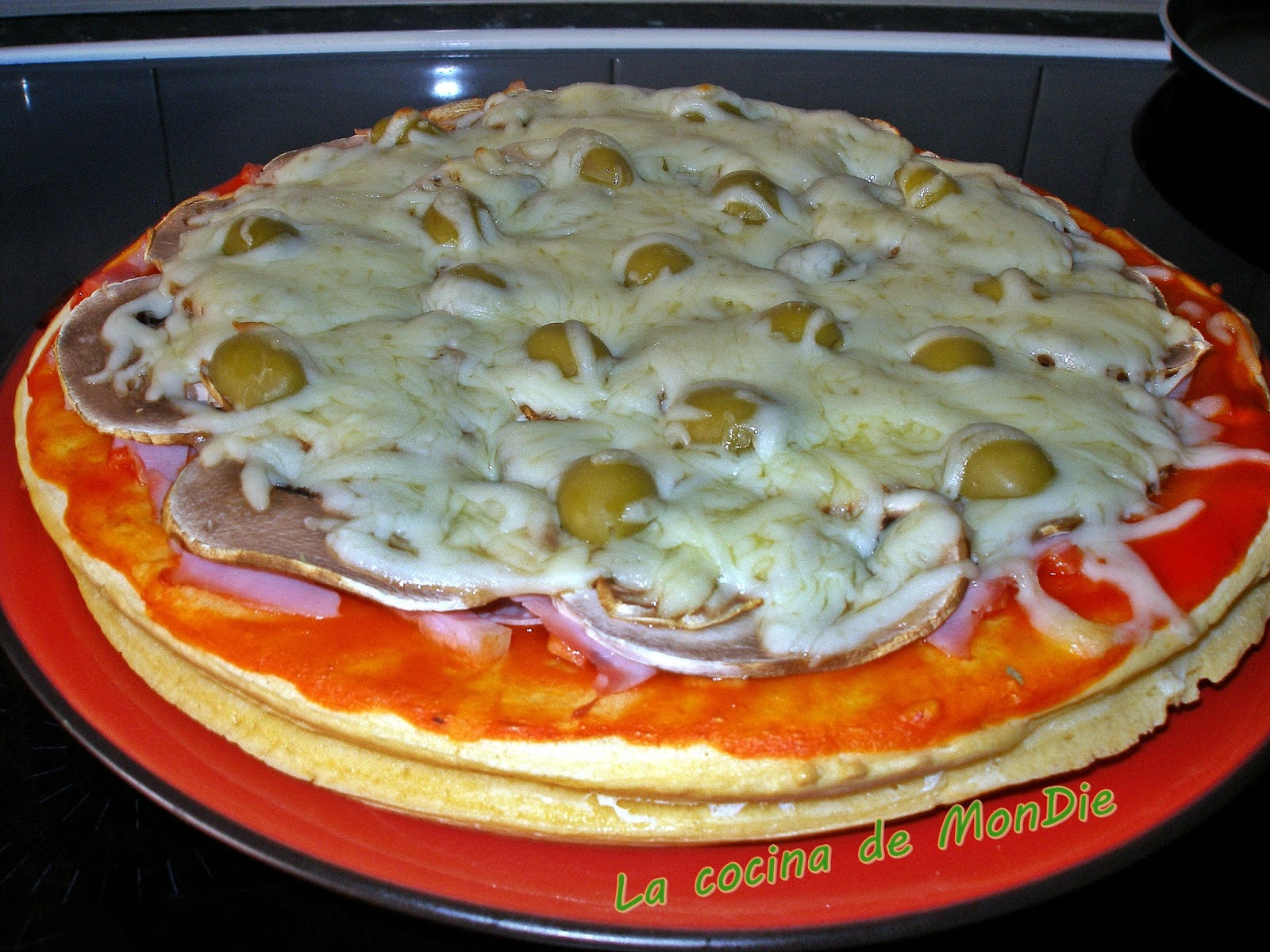 Pizza dos pisos