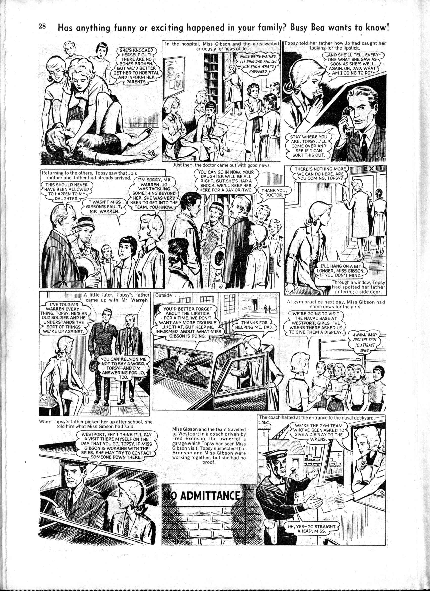 Read online Judy comic -  Issue #163 - 28