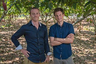 Eric Garnier et Christoph Inauen - fondateurs de Choba Choba