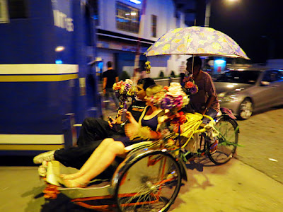 use the rickshaw for places you want to visit in Georgetown Penang at night
