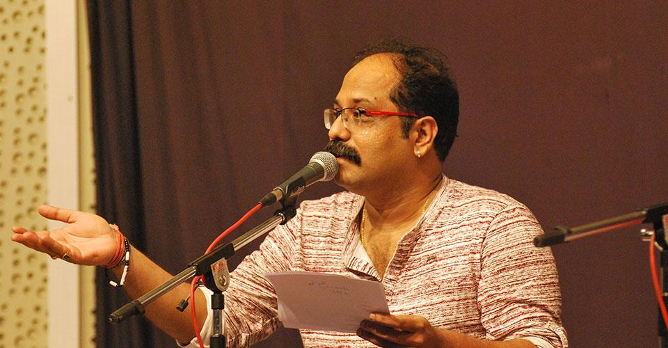 Vaibhav Joshi at Irshad in Pune