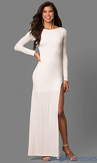 cocktail dress with sleeves