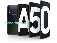 Logo Diventa una delle 50 tester Smartphone Samsung Galaxy A50