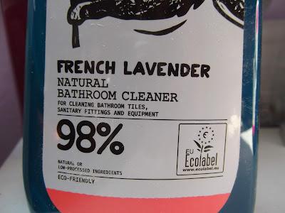 čistič na kúpeľne od Yope levanduľa