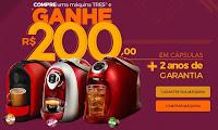 Compre Máquina Três e Ganhe 200! escolhatres.com.br/promo