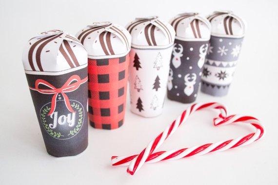 printable gift cups