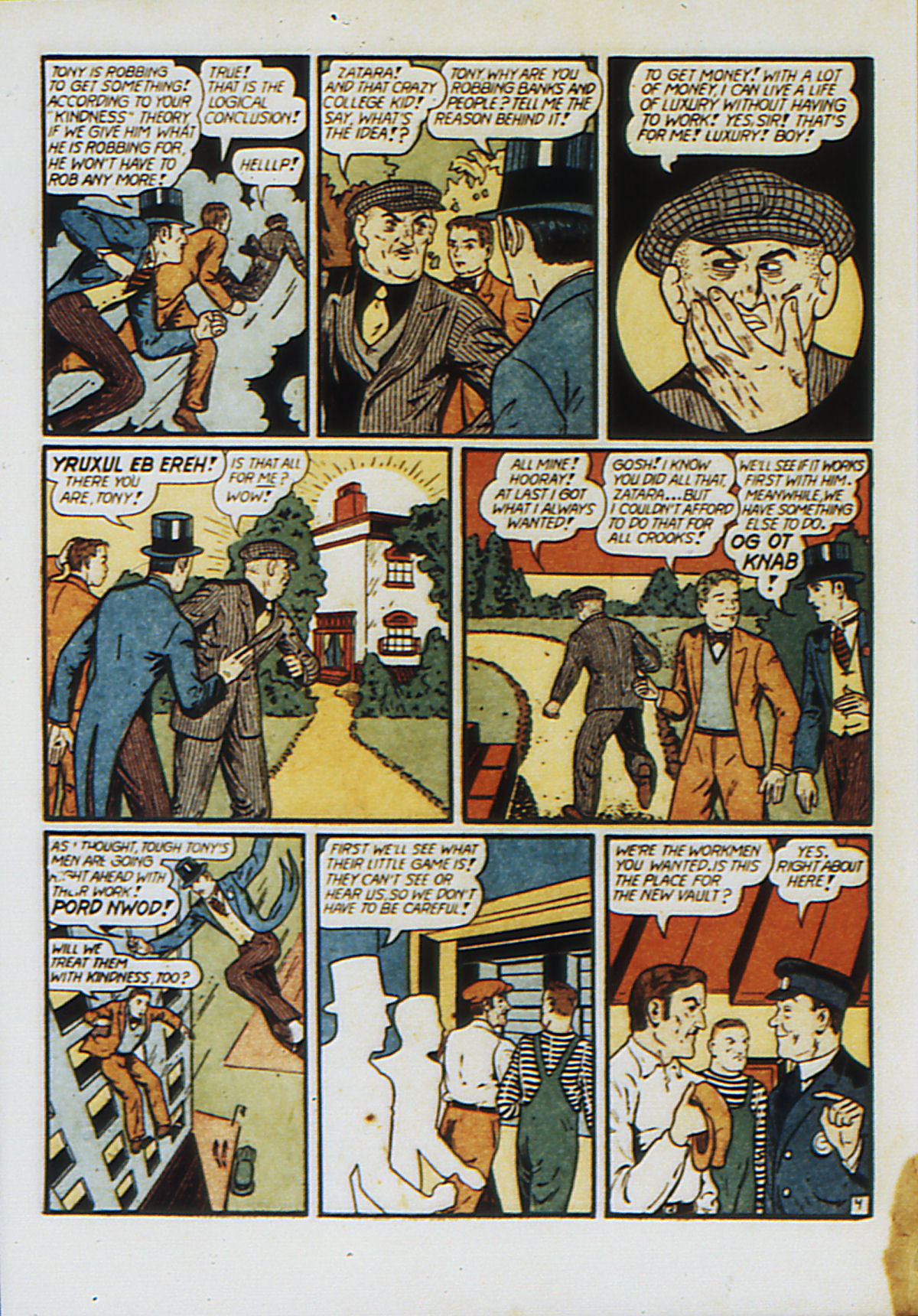Read online Action Comics (1938) comic -  Issue #53 - 61