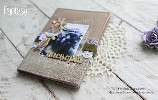 Обложка на паспорт Lana Zavy скрапбукинг