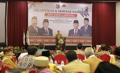 Gubernur Ridho: PATRI Lampung Berperan sebagai Perekat Keberagaman Nasional