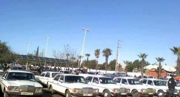 فرقة الدراجين بأكادير تضرب بقوة بمحطة سيارات الاجرة