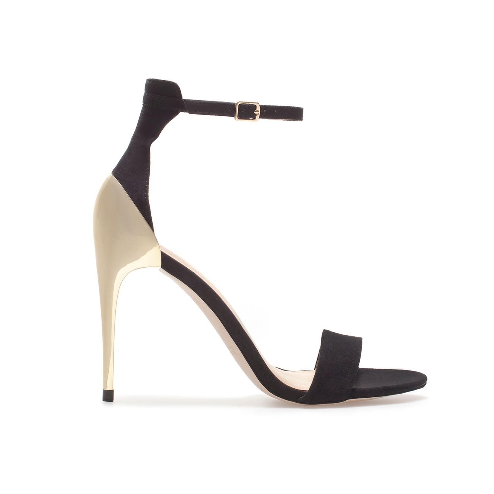 f4598e4fbeb069 Zara Delicate Strappy Sandals