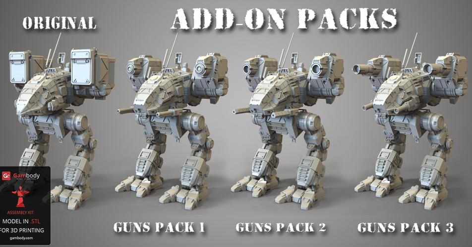 Mech Warrior Catapult Battletech 3d Files 3d Printable